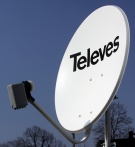 Antena satelitarna TELEVES 80 + konwerter OCTO  8 wyjść SAT