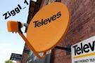 Antena satelitarna TELEVES 80 + konwerter TWIN 2 wyjścia SAT