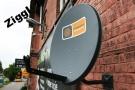 Antena satelitarna, czasza 70 ASC-700 - grafitowa markowana logo Cyfrowy Polsat