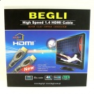 BEGLI KABEL HDMI VER. 1.4 HIGH SPEED 3M BOX