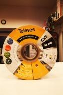 TELEVES kabel antenowy CXT-1 2128 - rolka 250m CU/AL
