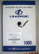 Kabel sieciowy LINKBASIC UTP kat. 5e 305m - drut zewnętrzny (100% Miedź)