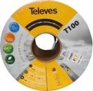TELEVES T-100 HD Kabel antenowy ref.2126-  cena za 1mb CU/AL
